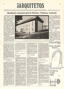Capa Jornal 3 Arquitetos nº1