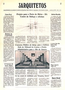 Capa Jornal 3 Arquitetos nº2
