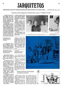 Capa Jornal 3 Arquitetos nº0