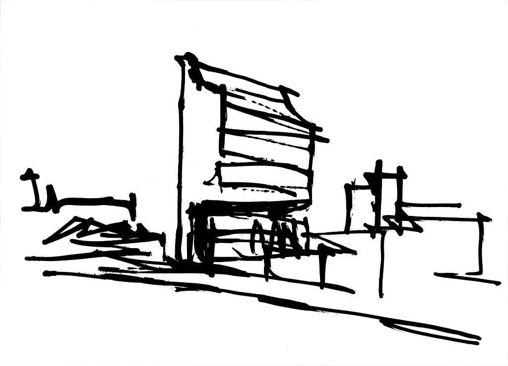 Croqui Edifício Direcional